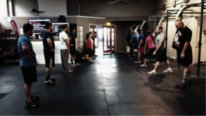 crossfit silicon valley working out
