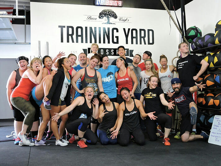 crossfit training yard