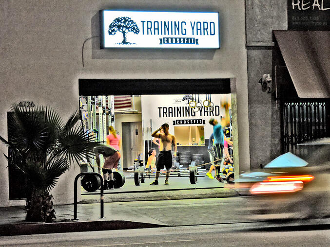 crossfit training yard brand image